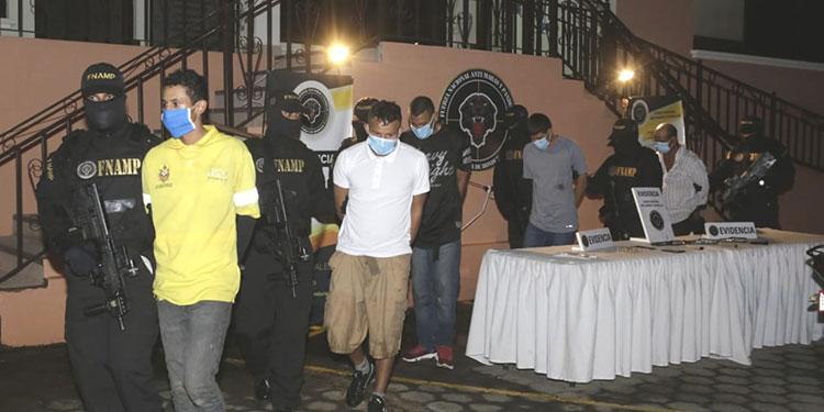 Los encausados fueron remitidos a la Penitenciaría Nacional de Támara.