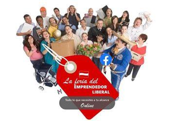 """La página de """"La Feria del Emprendedor Liberal""""."""
