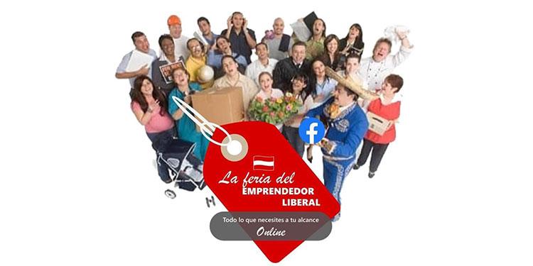 "Impulsan ¨On line¨ la feria ""Emprendedor Liberal"""