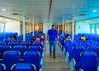 Marina Mercante: ferrys iniciarán pilotajes el próximo jueves
