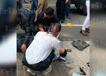 Fiscal del MP muere arrollado por camioneta en Tegucigalpa (Video)