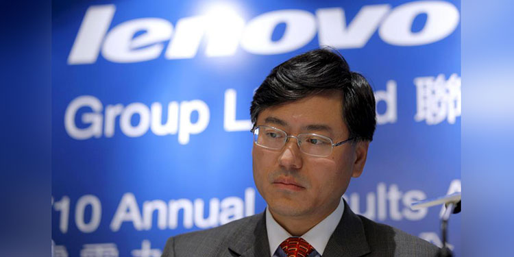 El consejero delegado del grupo chino Lenovo, Yang Yuanqing. EFE/