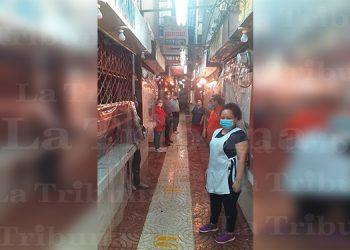 Locatarios del Mercado San Isidro piden subir a dos dígitos por día la movilización