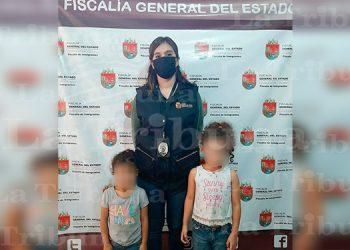 Rescatan a dos hermanitas hondureñas en México