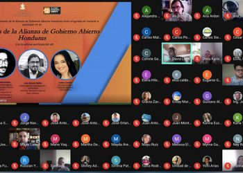 Con una videoconferencia se festejó el noveno aniversario de la incorporación de Honduras a la Alianza para el Gobierno Abierto (AGA).