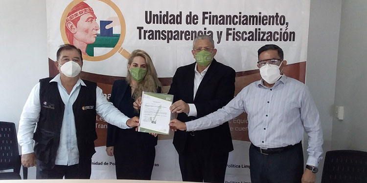 Nueva Ruta y Alianza Patriótica presentan informe financiero ante Unidad de Política Limpia