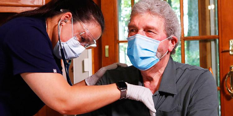 COVID-19: Enfermos optan por 'hospitalización en casa'