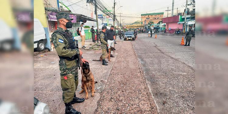 PMOP realiza operativos en Comayagüela