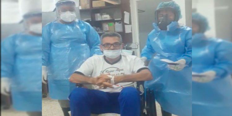 Roger Espinoza DT del Olancho FC tuvo la estrategia para vencer el coronavirus