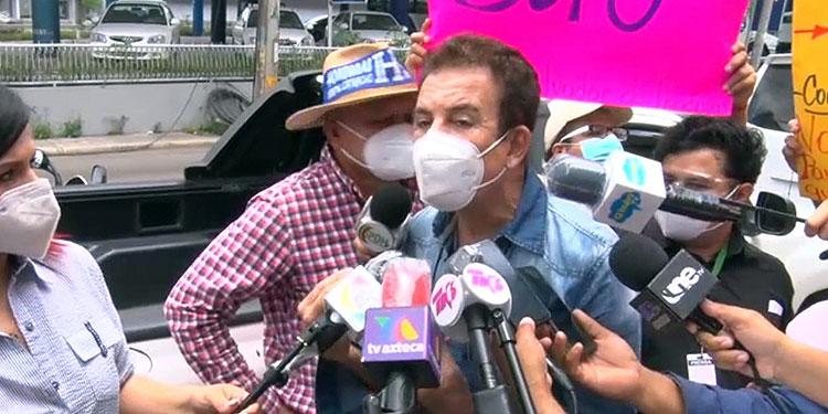 Nasralla pide al CNE la inmediata inscripción – Diario La Tribuna