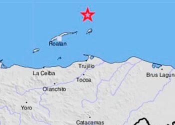 Sismo de magnitud 4.5 sacude la isla de Guanaja