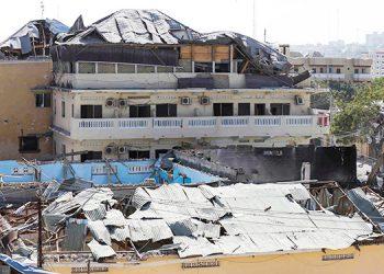 Diez muertos en un ataque a una base militar en la capital de Somalia