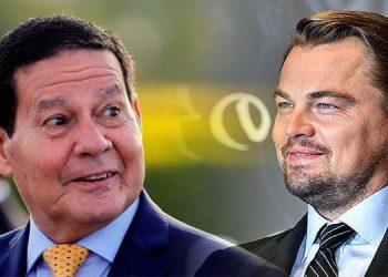 Vicepresidente de Brasil desafía a DiCaprio a una travesía en la selva