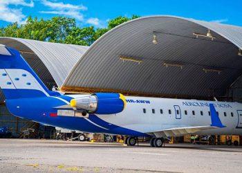 Por disposiciones del Sinager, únicamente fueron habilitados los vuelos nacionales.