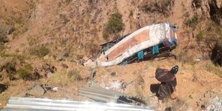 Un accidente vial en Bolivia deja 19 muertos y 17 heridos el más grave del año