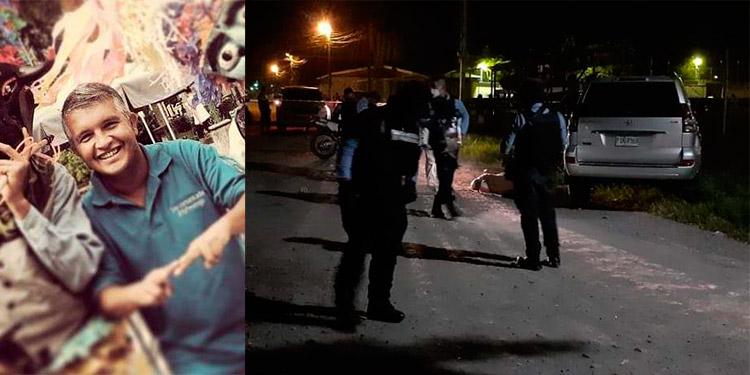 El comunicador fue atacado a disparos al momento en que iba en su vehículo.