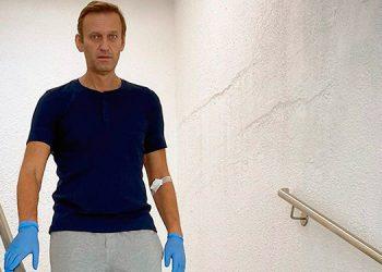 Opositor ruso Alexéi Navalni relata su difícil vuelta a la vida
