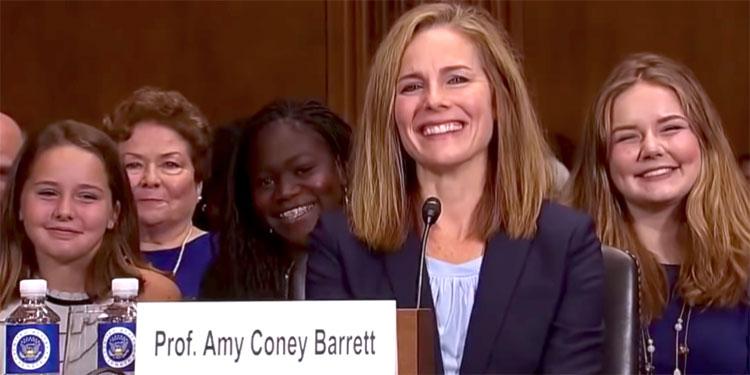 Demócratas boicotearán votación para confirmar a Barrett