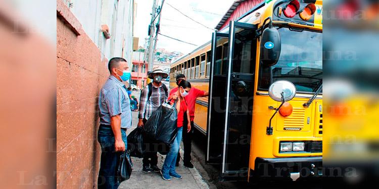 Transportistas: En la reapertura del transporte, el pasajero se tiene que cuidar por sí mismo