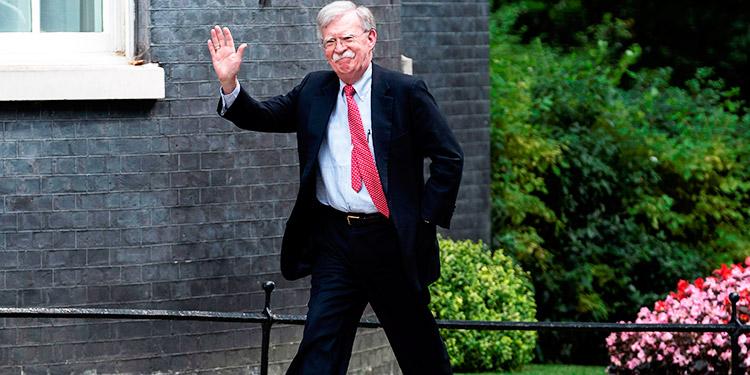 EEUU abre investigación criminal por el libro de John Bolton