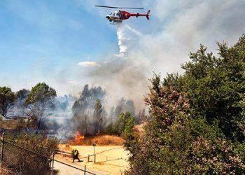 Pareja causó incendio en California al revelar género de bebé