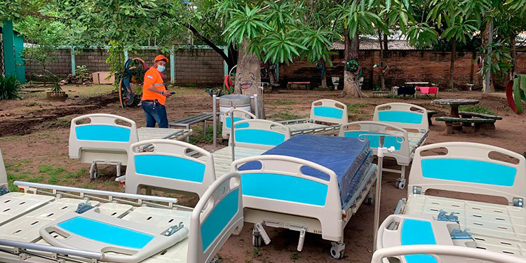 La donación de camas que ha hecho Copeco ha sido para las salas COVID-19.