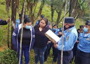 El cuerpo del agente policial William Fernando Portillo Zavala fue sepultado por sus parientes y compañeros de armas.