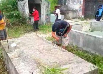 """A """"chapear"""" cementerio por no cumplir toque de queda"""