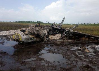 """La pista inhabilitada es donde el pasado 23 de agosto se incineró una """"narcoavioneta"""" cargada con 17 fardos de cocaína."""