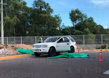 El último crimen múltiple reportado en la capital ocurrió en la salida a Valle de Ángeles, la tarde del domingo pasado.