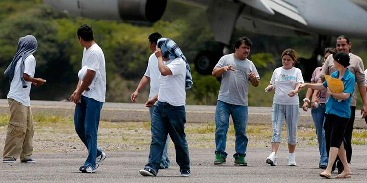 Más de 28.000 inmigrantes hondureños fueron deportados entre enero y agosto