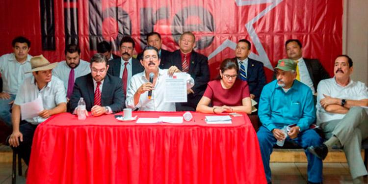 Libre celebrará elecciones primarias bajo protesta