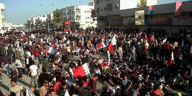 Decenas de personas se manifiestan contra el acuerdo de Baréin con Israel