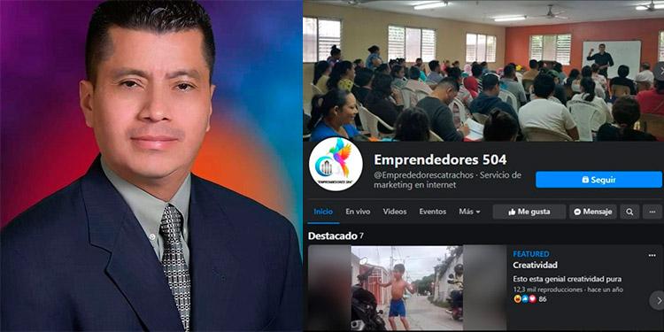"""Emprendedor ofrece publicidad a """"catrachos"""" en pandemia"""