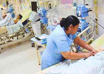 46 pacientes hospitalizados se encuentran en el Hospital Escuela.