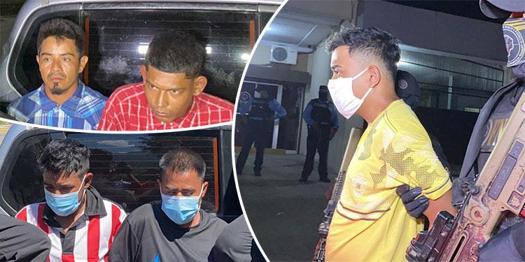 """Los cinco encausados fueron enviados a la cárcel de """"La Tolva"""" en Morocelí, El Paraíso."""