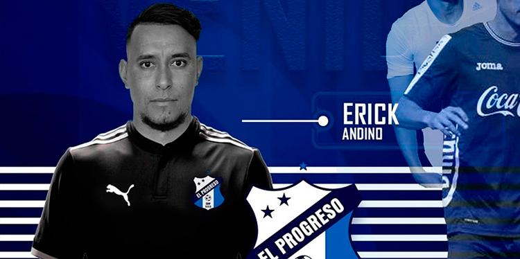Erick Andino se une al Honduras de El Progreso