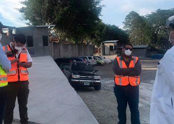 Equipo técnico de INVEST-Honduras visitó el plantel para constatar avances.