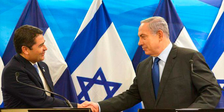 JOH y Netanyahu preparan apertura de embajadas en Jerusalén y Tegucigalpa