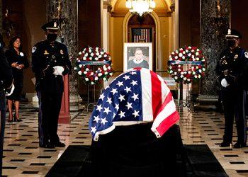Congreso de EEUU rinde el máximo homenaje póstumo a la jueza Ginsburg