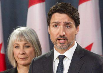 Trudeau preocupado por aumento de los casos de COVID-19