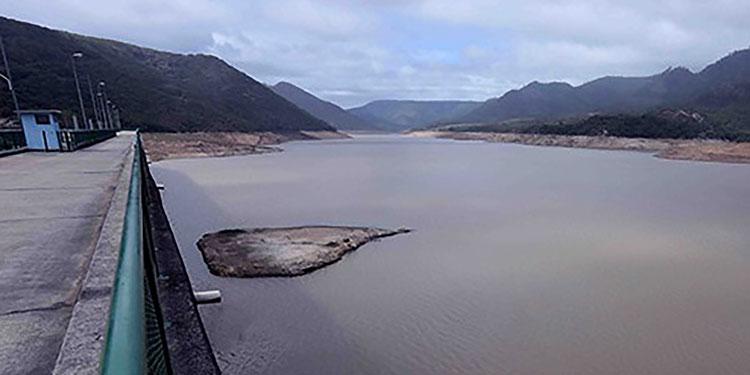 Desde hacía unos cuatro años la represa La Concepción no alcanzaba su máximo nivel.