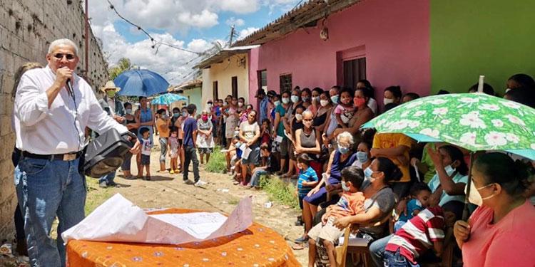 Esdras López y su Comisión Nacional, también en su cruzada política.