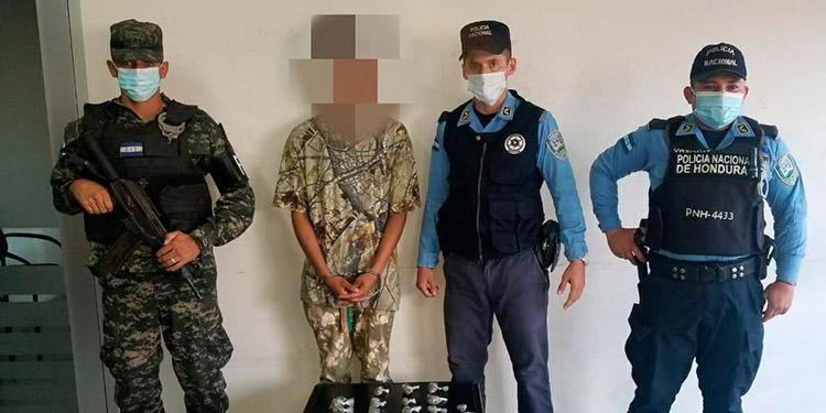 Capturan a pandillero por tráfico de droga