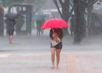 Lluvias de hoy podrían presentarse en el occidente, sur y oriente del país