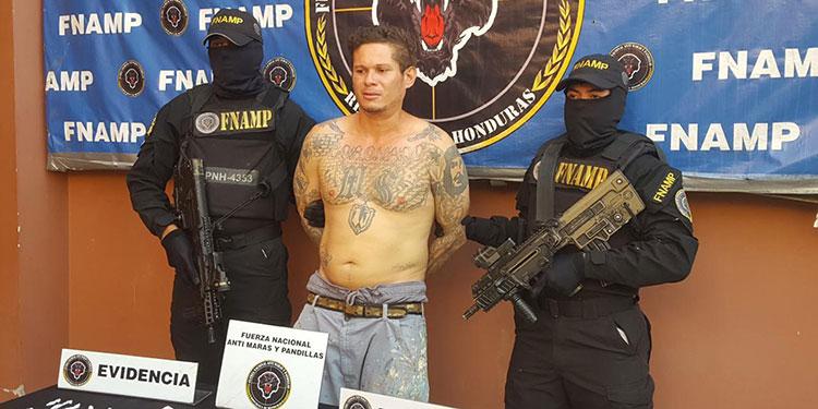 William Pabel Rivera fue remitido ante las autoridades competentes por tráfico ilícito de drogas en perjuicio de la salud del Estado de Honduras.