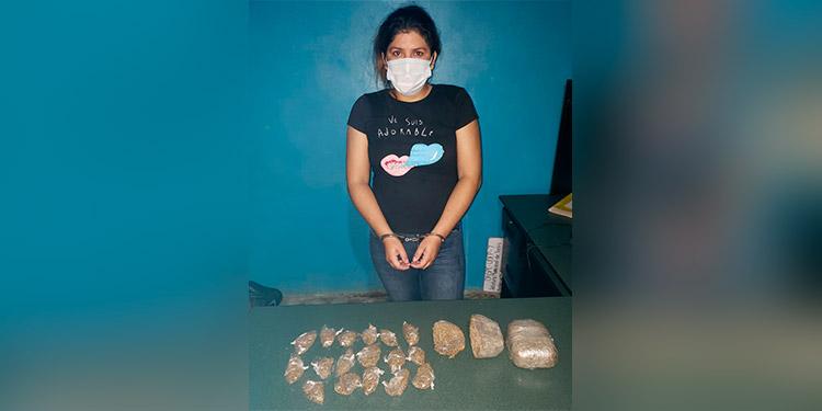 Detienen a una nicaragüense dedicada al narcomenudeo
