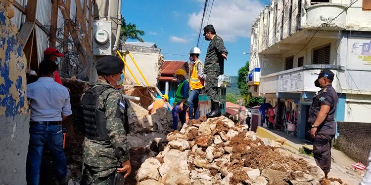 INP supervisa trabajos en muro perimetral de la cárcel de Trujillo, Colón