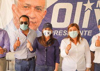 El movimiento del doctor Mauricio Oliva continuará su gira por aldeas y caseríos.