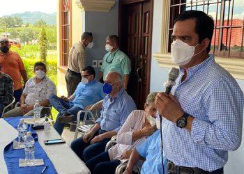 """Mauricio Oliva en Quimistán: """"Confíen en mí, históricamente nunca he dejado atrás a mis amigos"""""""